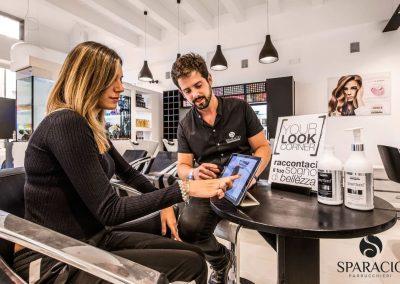 consulenza pietro sparacio presso salone loreal professionnel concept saloon emotion sparacio parrucchieri