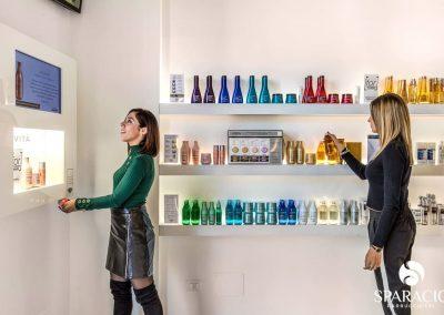 modelle ricercano prodotti salone loreal professionnel concept saloon emotion sparacio parrucchieri