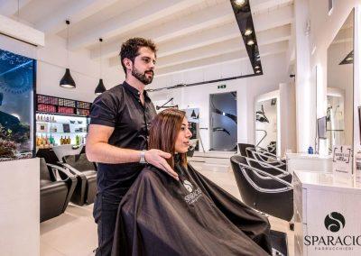 risultato taglio capelli presso salone loreal professionnel concept saloon emotion sparacio parrucchieri