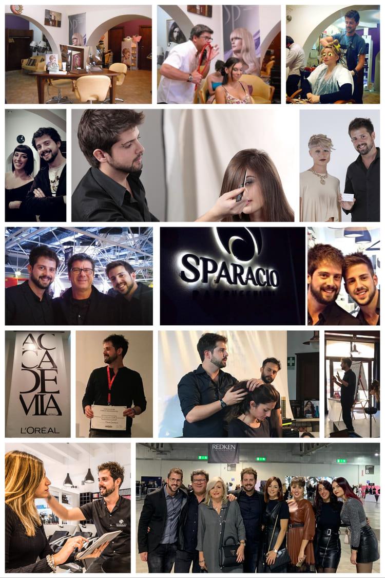 Collage Storia SPARACIO Parrucchieri